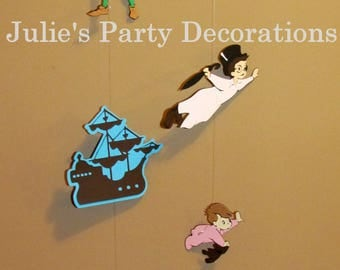 Peter Pan birthday decoration