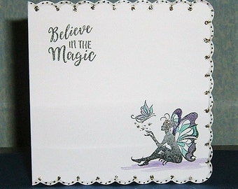 Fantasy greetings card all occasion (ref 454)