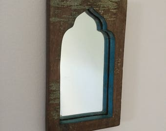 Mini Reclaimed Mirror
