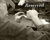 custom gold ring -- final listing -- reserved for Ryan