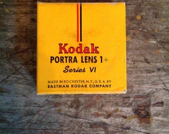 Vintage New in Package Kodak Portra Lens Series VI 6 1+