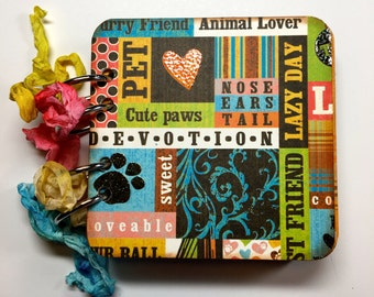 Handmade Dog Mini Album