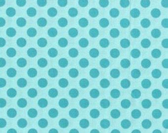 Michael Miller Ta Dot Sea Fabric - 1 yard