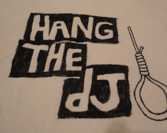 Hand Stenciled Raglan Shirt The Smiths Band