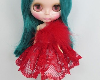 Handcrafted dress outfit for Blythe doll 400-575