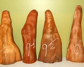 "6 Carolina Cypress Knees 9"" & 10"", Wood Carve, Paint, Craft 11-9-16-3  FREE SHIPPING!!!"