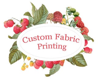 Custom Fabric Printing by Raspberry Creek Fabrics