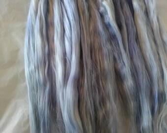 Reserved / Doll Hair / BJD / MSD / Re root / Combed Suri Alpaca / Minifee / Reborn /  Wig / Supplies (5016)