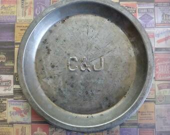 C & J Vintage Pie Pan