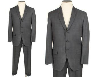 1960s mens Penneys Towncraft suit • size 40