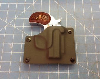 Storm Grey Kydex Retention Holster for a Bond Arms Derringery