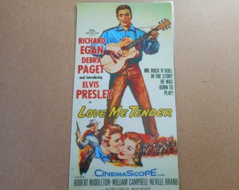 Magnet Elvis Love Me Tender movie poster magnet
