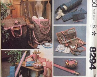 Vintage – Pattern for Needlecraft Accessory Package – McCall's Pattern No. 8294