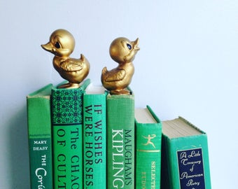 Kelley Green Books Instant Library Collection Decorative Books Photography Props Kelly, Grass Green Decorative Book Set