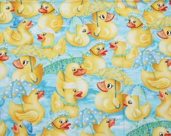 Adorable OOP Rubber Ducky New Fabric - 4 Yard, 44-Inch Wide Piece