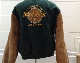 SALE Vintage Hard Rock Cafe Los Angeles Jacket XXL