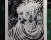 """Lila /// 5x6"""" Giclee Print Limited Edition of 15"""
