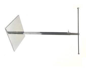 Single Tier Metal Jewelry T-Stand