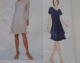 Vogue Pattern 1953; Misses' Dress and Slip; Tom and Linda Platt, Sizes 8-10-12, Uncut