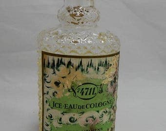 Vintage 4711 Ice Eau de Cologne on Rhine Made in Germany    OAW4