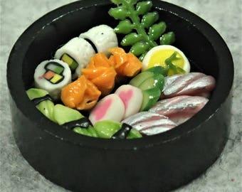 Miniature A Tray Of Sushi - ATS04