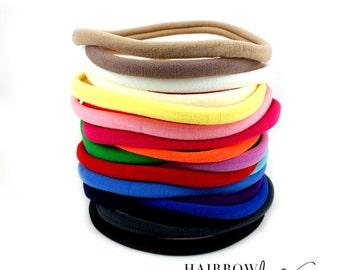 Nylon Headbands, Nylon Baby Headband, Nylon Headbands Wholesale, Nylon Headbands Baby, Nylon Headband Set - Hairbow Supplies, Etc.