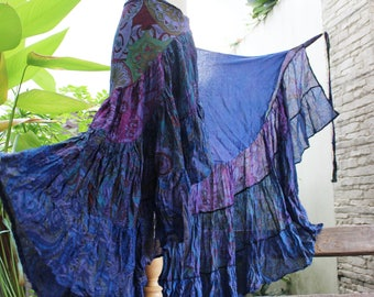 Ariel on Earth Ruffle Wrap Skirt - PB0517-01