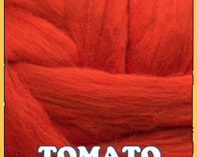Ashland Bay Merino Roving - Shades of Red
