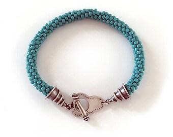 Woven Bracelet   Kumihimo   Artisan Jewelry