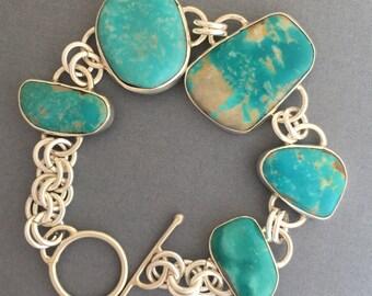 Nevada Fox Turquoise bracelet