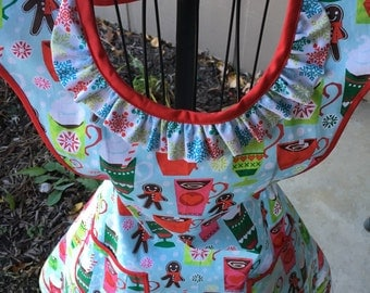 Cocoa and Cookies Woman'a Full Apron