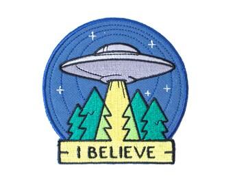 UFO Patch - I Believe