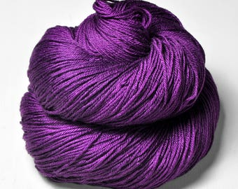 Poisoned by the Ex - Merino/Silk Fingering Yarn Superwash