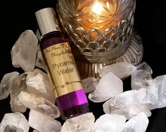 Pyramid Water Ritual Water -- Charging and Empowering