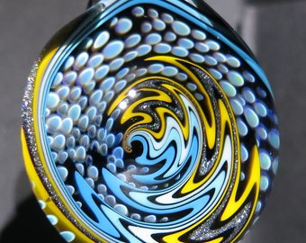 Boro Glass Sale Lampwork Pendant Switchback Wig Wag Implosion Borosilicate Bead Collection