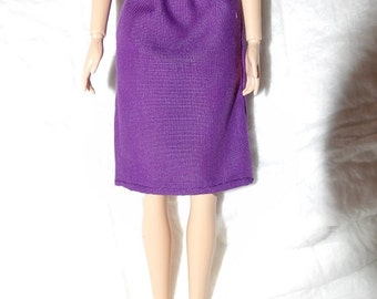 Fashion Doll Coordinates - Purple skirt - es435