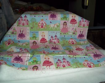 Princess Fabric in pretty pastels