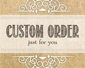 "Custom design ""Letters to the Bride"" Album for Stephanie P."
