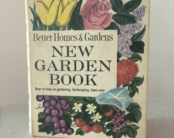 Vintage Better Homes and Gardens New Garden Book