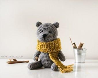 Classic Teddy Bear - amigurumi crochet pattern