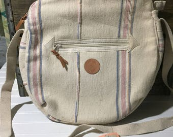 vintage pastel pacific connections cotton loom shoulder bag nwt cotton exotic