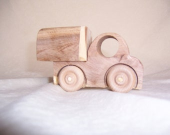 Midget Wood Toy Truck Handcrafted from Mesquite Tree