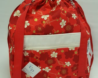 Anyway Anywhere Bag in Cherry Blossom, size Medium