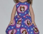 American Girl Wellie Wisher Doll Clothes Custom Made Princess Dress