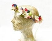 Custom Bridal Flower Crown For Georgia