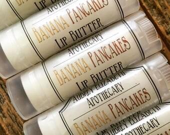 Banana Pancakes Lip butter - chapstick - lip balm