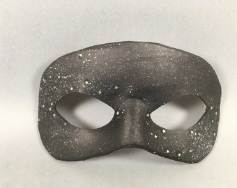 Stars Night Sky Leather Masquerade Mask