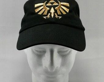 Gold Triforce Baseball Cap