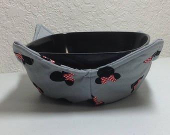 Potholder Bowl/Cozy - Minnie Silhoutte - 0275