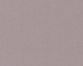 Smoke, Kona Cotton, Robert Kaufman Fabrics, 1/2 Yard